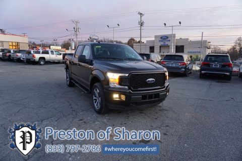 Pre-Owned 2020 Ford F-150 XL 4WD 4D SuperCrew